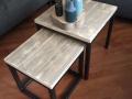 tafeltjes stalen onderstel Rianne