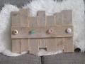 kapstok voor kinderen oud steigerhout