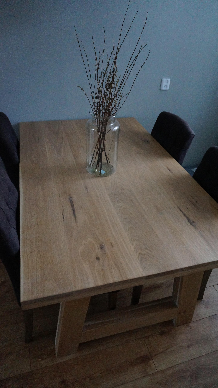 Massief Eiken tafel