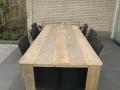 Tuintafel oud steigerhout