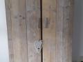 kast oud steigerhout