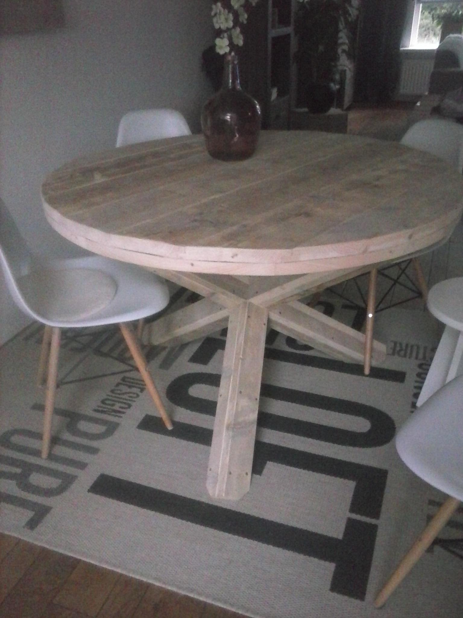 Ronde tafel Jose kruispoot