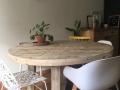 Ronde tafel Marjan Trapezium