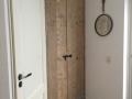 Deur meterkast oud Steigerhout