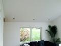 Verlaagd plafond met inbouwspotjes